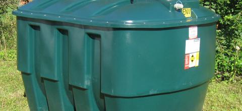 contenu de réservoir à mazout