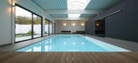 pool house chauffée