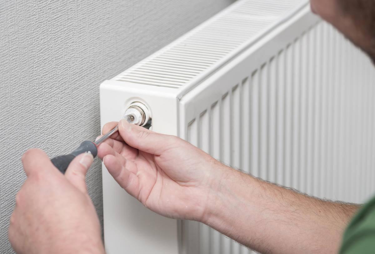 radiator maakt lawaai