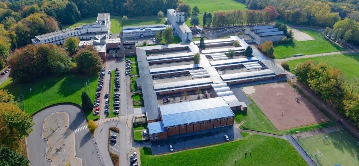 Le centre scolaire de Berlaymont à Waterloo