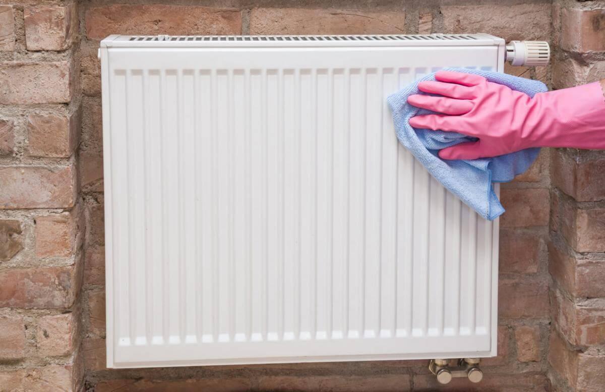 radiatoren schoonmaken