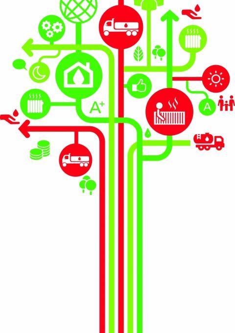 Energie-efficiënt verwarmen cover illustratie