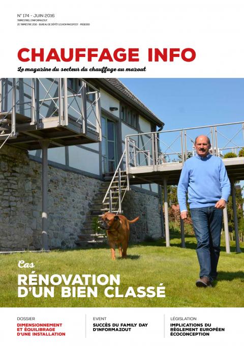 Chauffage info Juin 2016