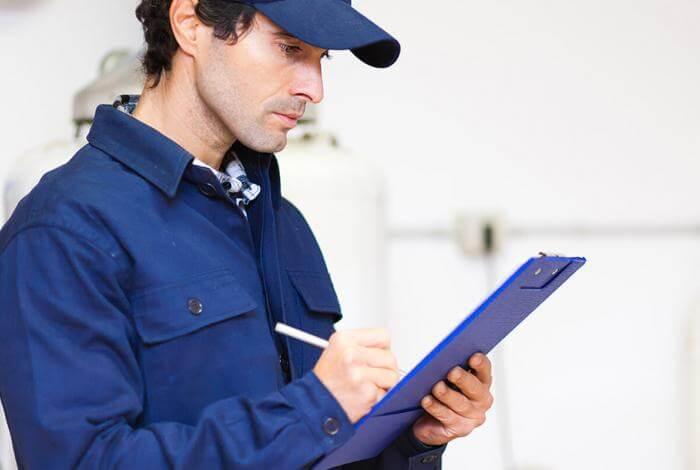 zoekmotor voor een mazoutverdeler of technicus, installateur