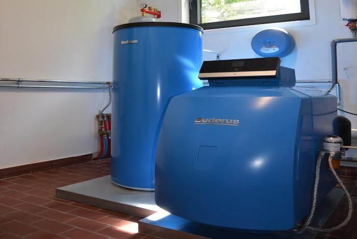 condensatiektel en boiler